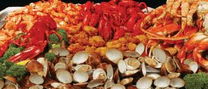 Jimmy's seafood buffet seafood platter
