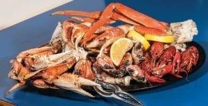 sweet crab legs
