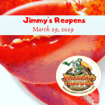 Jimmy's is open for the season on March 29th