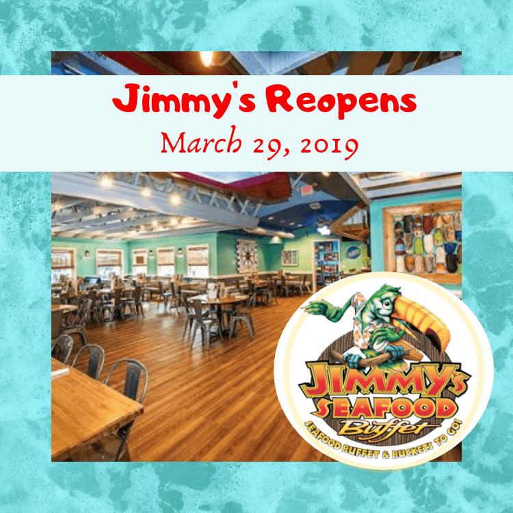 jimmys seafood buffet reopens