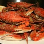 Jimmy's seafood buffet cooked crabs