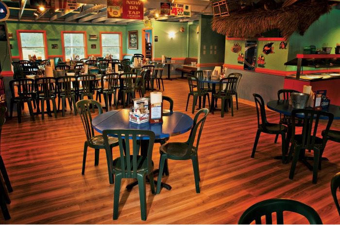 seating at jimmy's seafood buffet